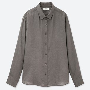 WOMEN PREMIUM LINEN LONG-SLEEVE SHIRT/us/en/women-premium-linen-long-sleeve-shirt-414169.html