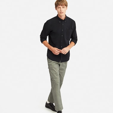 PULL ON RELAXED CARGO PANTS