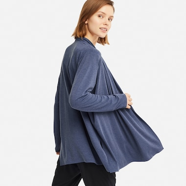AIRISM UV CUT SEAMLESS STOLE CARDIGAN