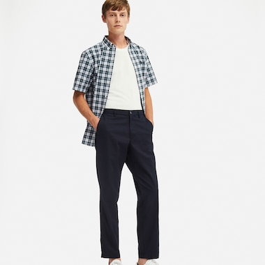 COTTON LINEN RELAXED PANTS