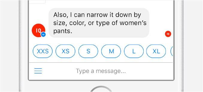 IQ Messenger Color/Size/Qualities
