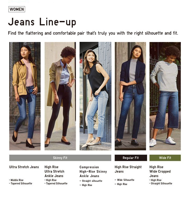 f862214d863 Women's Jeans: High Rise, Ultra Stretch, Maternity & More | UNIQLO US
