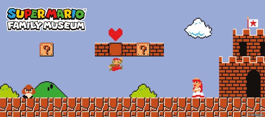 Super Mario Nintendo Museum Ut Collection Uniqlo Uk